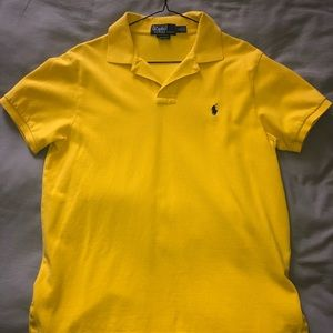 Custom fit Ralph Lauren polo.